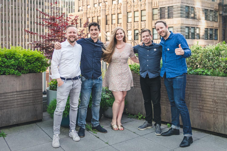 Kickstarting Frontify US at Times Square, NYC