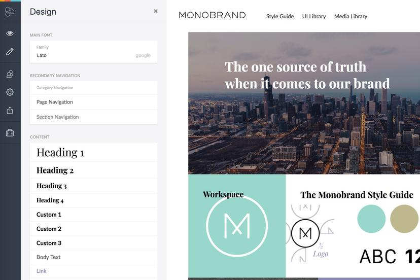 Beloved Features In Frontify Style Guide