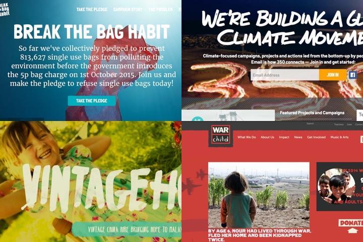 Design Round-Up: 11 Best Non-Profit Website Designs